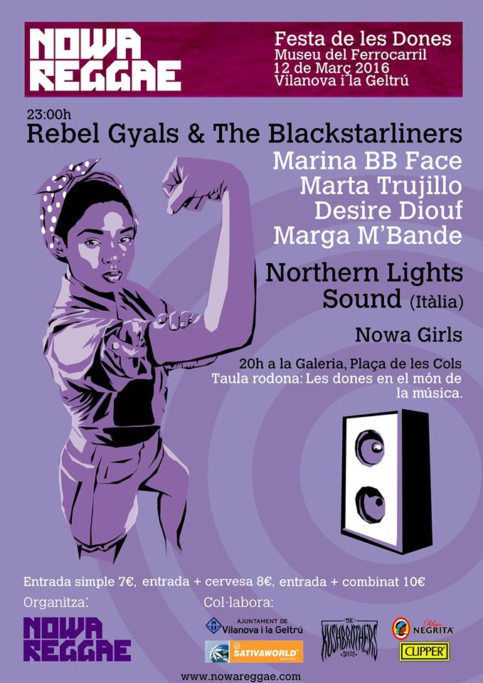 Festa de les dones nowa reggae