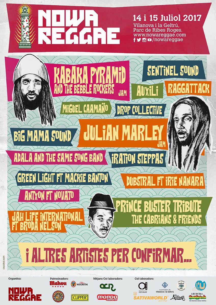 nowa reggae poster 2017