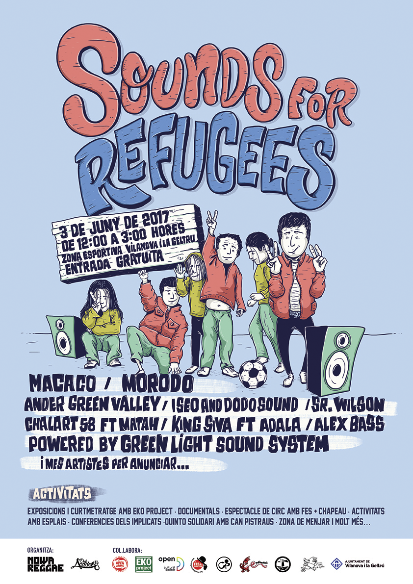 sounds for refugees