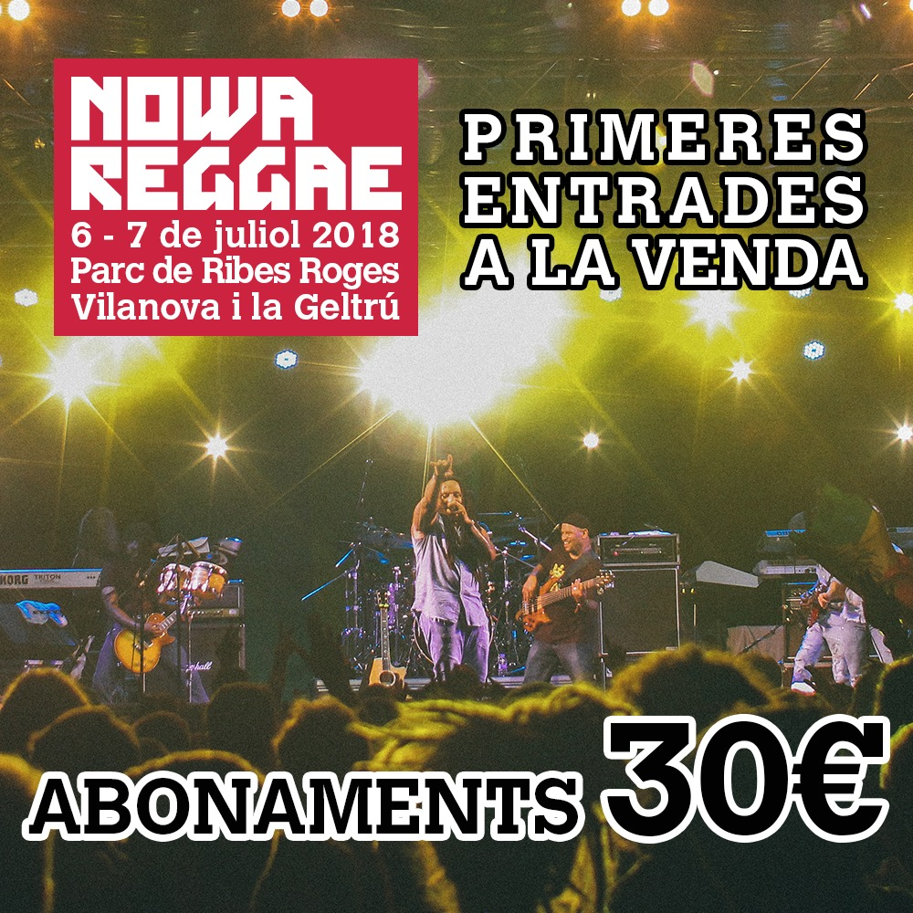 entrades nowa reggae 2018