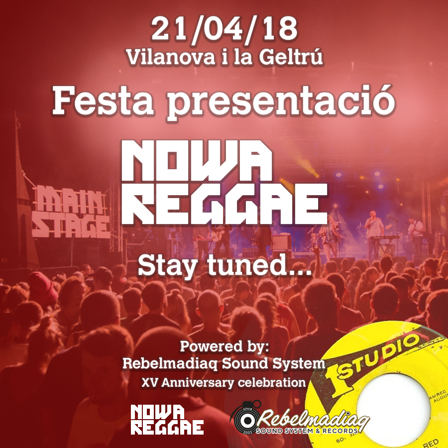 presentació nowa reggae 2018